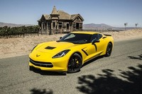 Yellow Corvette Stingray